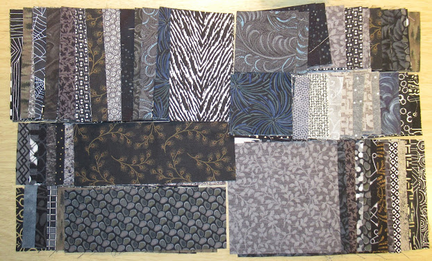 Pieces for black/grey Scrap Snap blocks