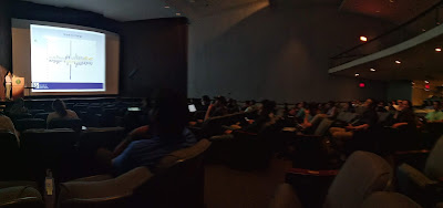 One of the few photos of a plenary session on the developer day