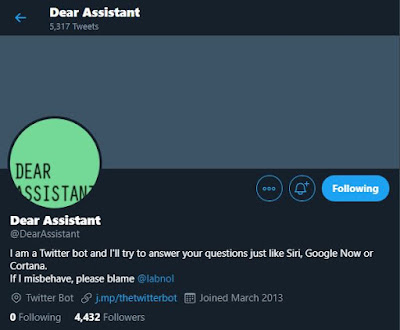 Dear Assistant