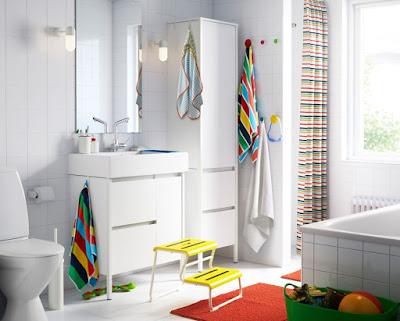 Tips Desain Kamar Mandi Terbaik IKEA