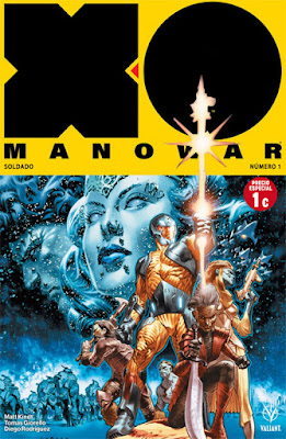 Reseña de X-O Manowar 1: Soldier. De lo mejor del Universo Valiant