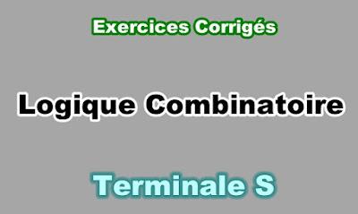 Exercices Corrigés de La Logique Combinatoire Terminale S PDF