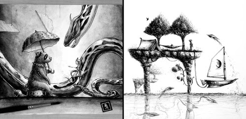 00-Illustrations-MonstersofNowhere-www-designstack-co