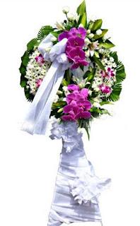 Đặt vòng hoa đám tang ở TpHCM