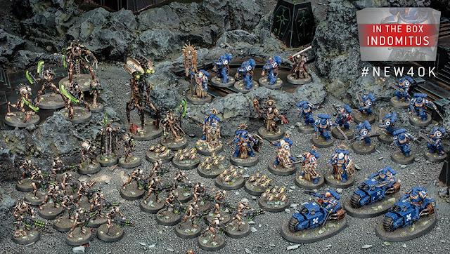 contenido caja indomitus Warhammer 40.000
