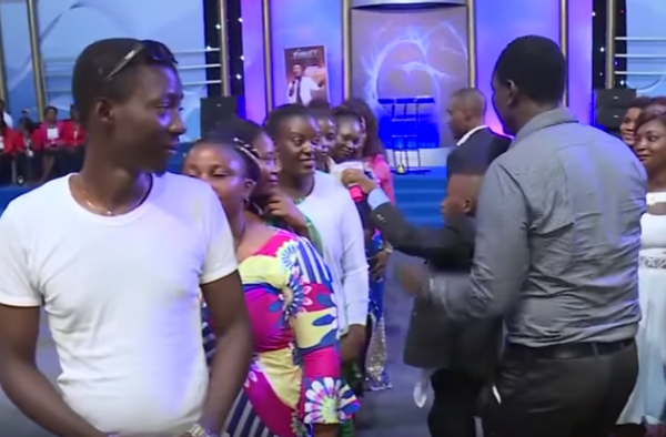 Pastor orders single youths to choose each other for marriage