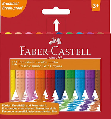 Детски пастели Faber Castell Jumbo Grip, Фабер Кастел,12 Цвята