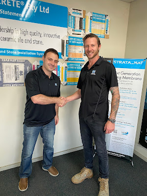 From left to rigth. Daniel Minos and Chris Stenhouse, Technical Sales Reps in Victoria.