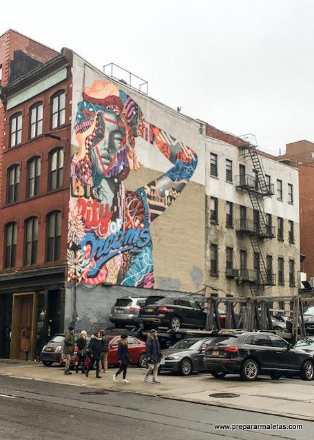 ruta por barrios bonitos de nueva york