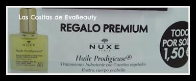 Regalo Aceite Nuxe Revista Elle pocket noviembre 2019