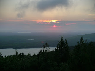 Acadia-National-Park-Cadillac-Mountain-Sunset
