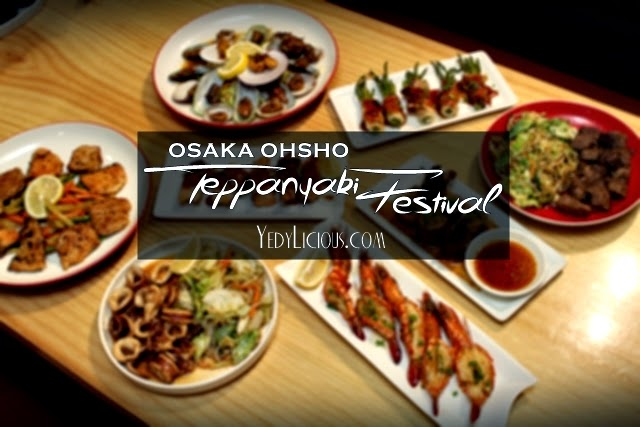 Osaka Ohsho Manila Philippines Teppanyaki Menu, Osaka Ohsho Gyoza Megamall PH Location Address Facebook Contact No Twitter Instagram