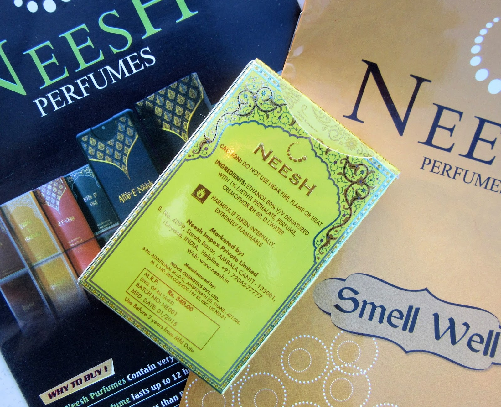 Neesh 'PIKPACK' Pocket Perfumes Review, Price, Details