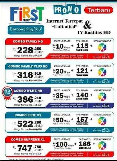 Promo Wifi First Media Surabaya