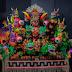 Artista revela segredos das alegorias do Festival de Parintins com réplicas em miniatura
