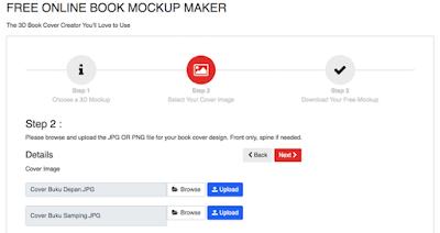 Mockup Buku 3D
