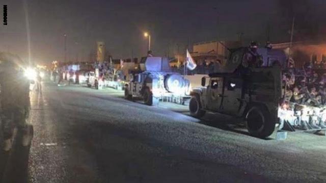 مصدر من موقع السفارة الأمريكية في بغداد يوضح الوضع الحالي