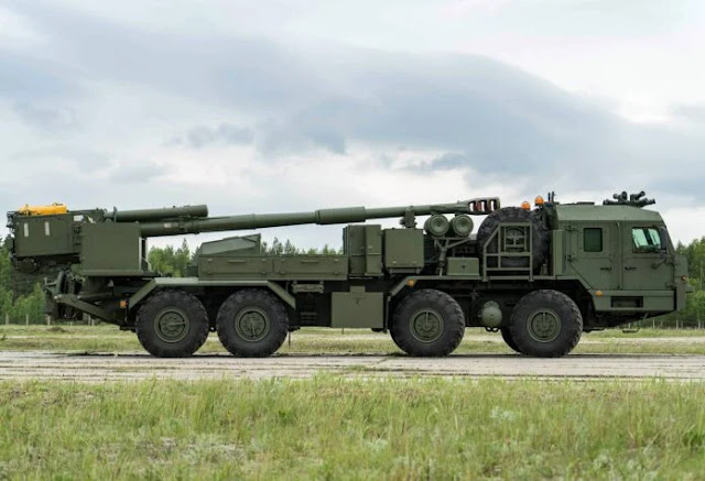 Nga lộ diện pháo tự hành 152mm