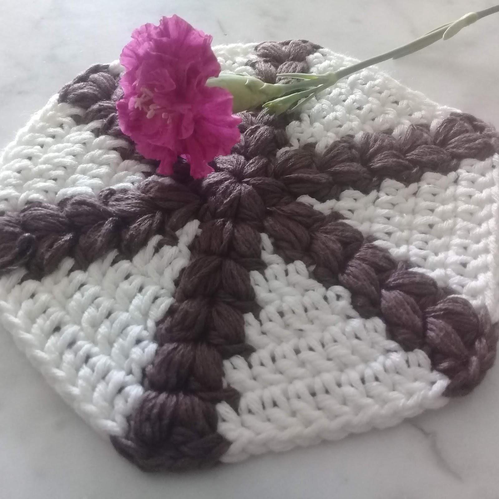 How to Crochet Half Solid Hexagons