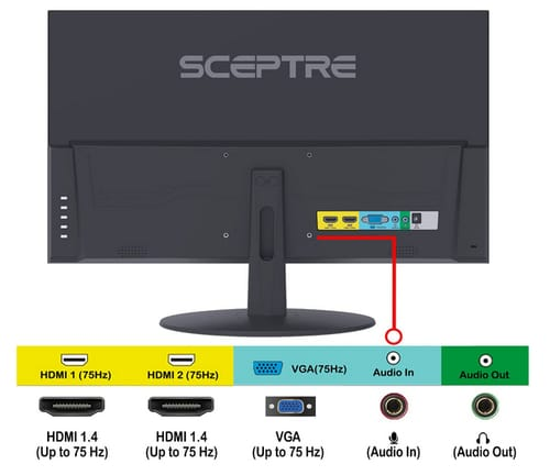 Sceptre E278W-FPT IPS LED Gaming Monitor