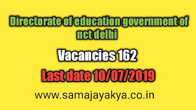 Directorate of education government of nct delhi