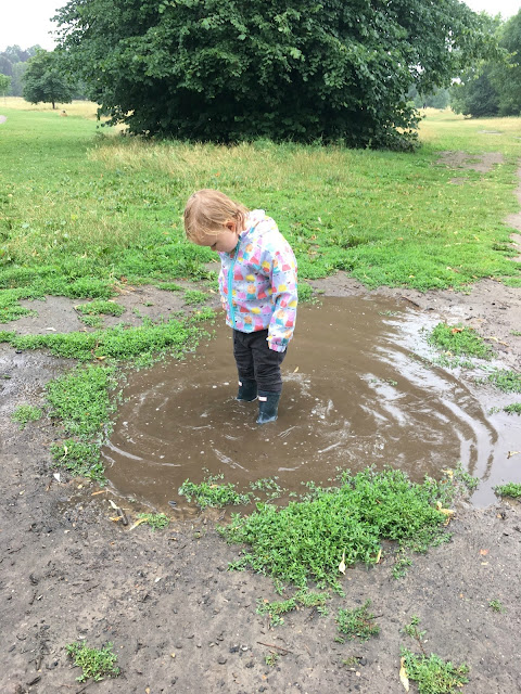 Jumping in Muddy Puddles...