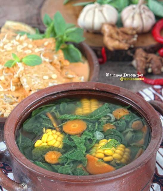 Cara membuat sayur bening seger buat menu buka puasa