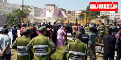 أخبار المغرب: الاعتداء على أعوان سلطة وأمنيين خلال هدم بنايات عشوائية بطنجة