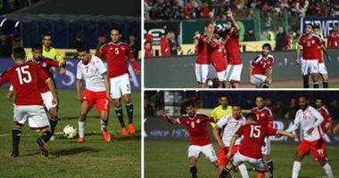 مصر تفوز على تونس لأول مرة من 15 سنة