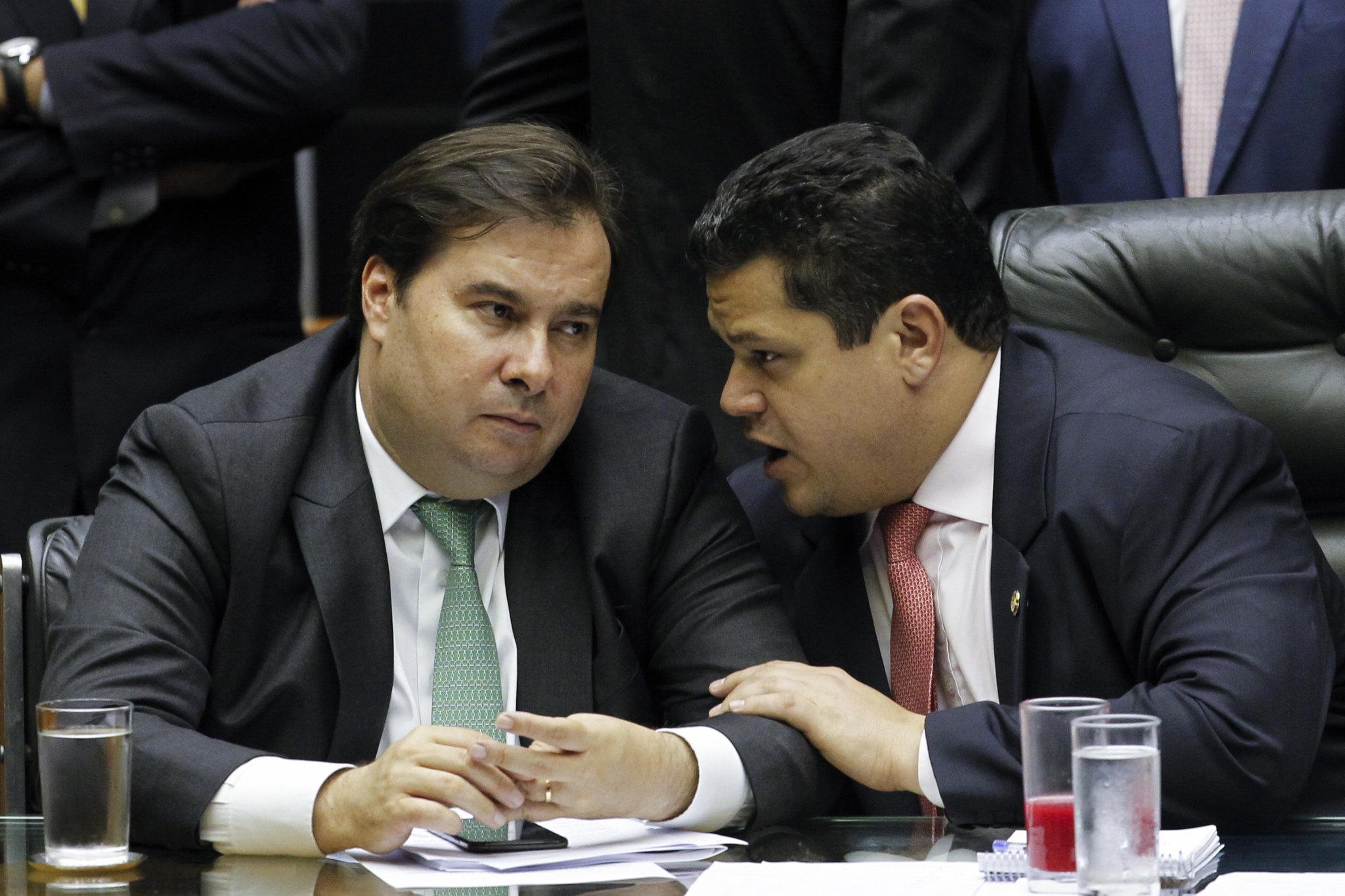 Rodrigo Maia | Davi Alcolumbre