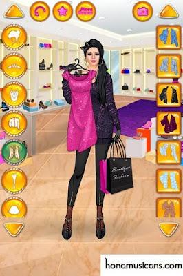 تحميل لعبة تلبيس بنات لعبة التسوق المجنون للفتاة الثرية – لعبة أزياء للاندرويد