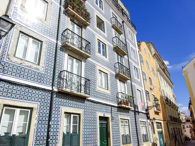 Tiled Buildings in Lisbon