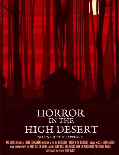 pelicula Horror en el desierto alto