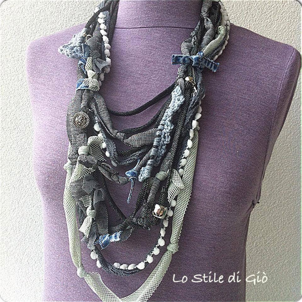 Favorito Lo Stile di Giò: tante tantissime le collane in fettuccia. RO78
