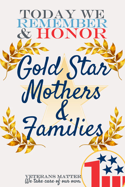 Gold Star Mother's and Family Day Wishes Awesome Picture