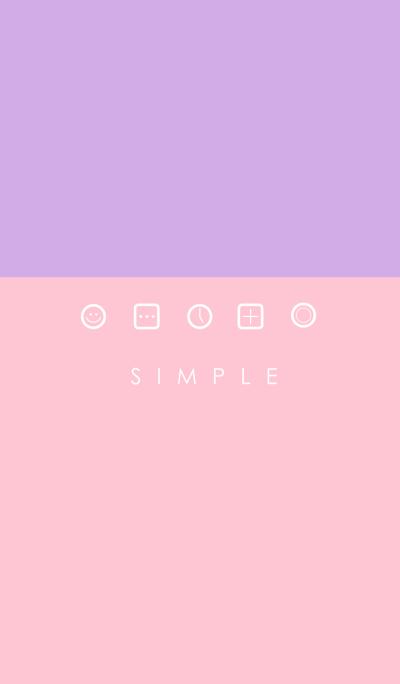 SIMPLE(pink purple)V.3