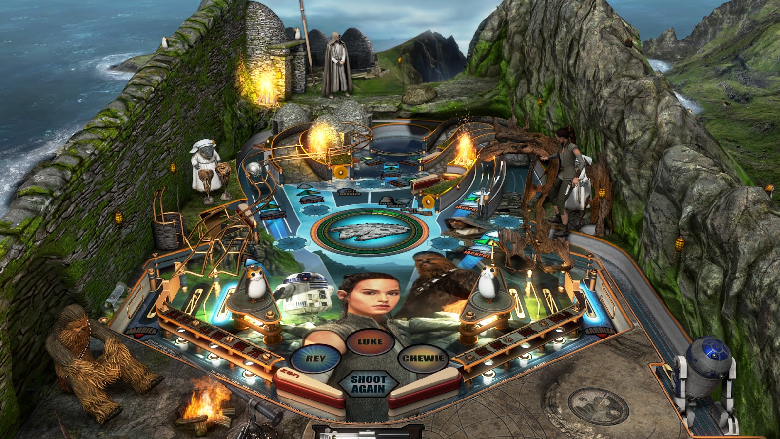 Pinball FX3 - Star Wars: The Last Jedi - PS4 Review | Chalgyr's Game