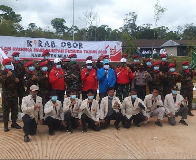 Makruf Soeroto Mengamankan Peringatan Hari Sumpah Pemuda di PLBN Sota