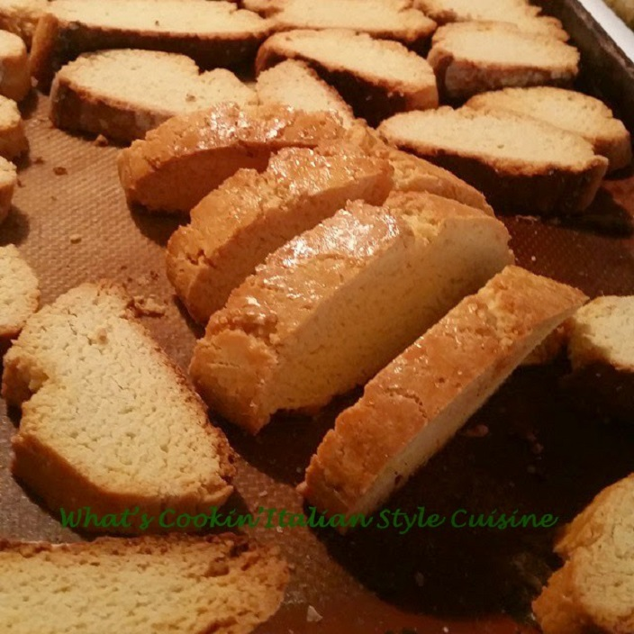 Italian anisette biscotti cookies
