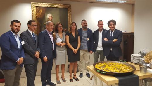 olomer muestra el respaldo del Consell al Día Mundial de la Paella 'para conseguir ser un destino gastronómico competitivo'