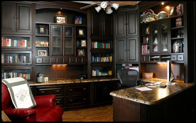 27 Awesome Custom Home Office Furniture yvotubecom
