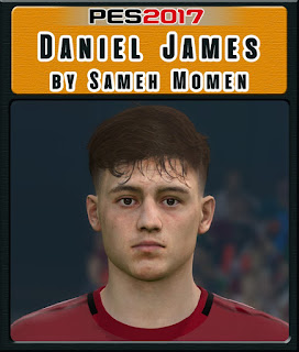 PES 2017 Faces Daniel James by Sameh Momen
