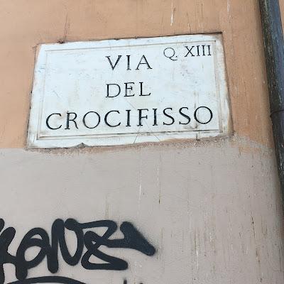Via del Crocifisso Cavalleggeri