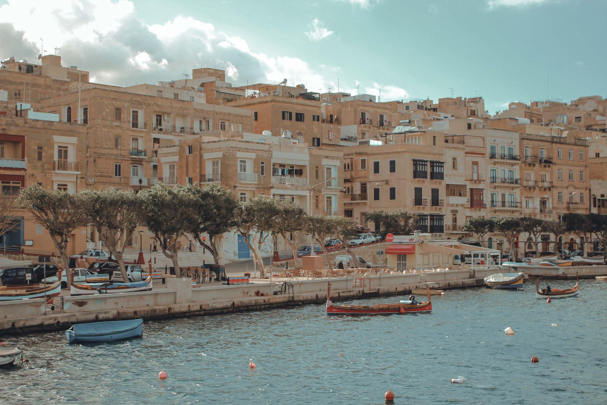 Malta Three Cities Hafen
