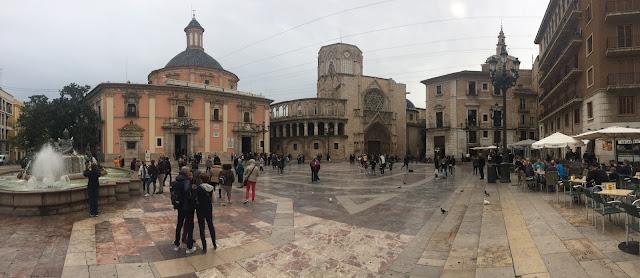 Un paseo por Valencia (España) Plaza del Ayuntamiento