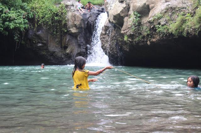 Air Terjun Tibu Atas Desa Buwun Sejati - Narmada, Lombok Barat