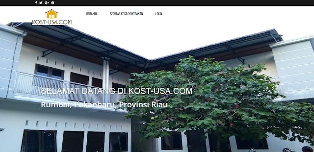 Penyewaan Kost dengan CodeIgniter Berbasis Web