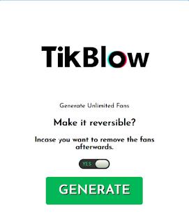 Tikblow.com | How to get free tiktok fans via Tikblow com