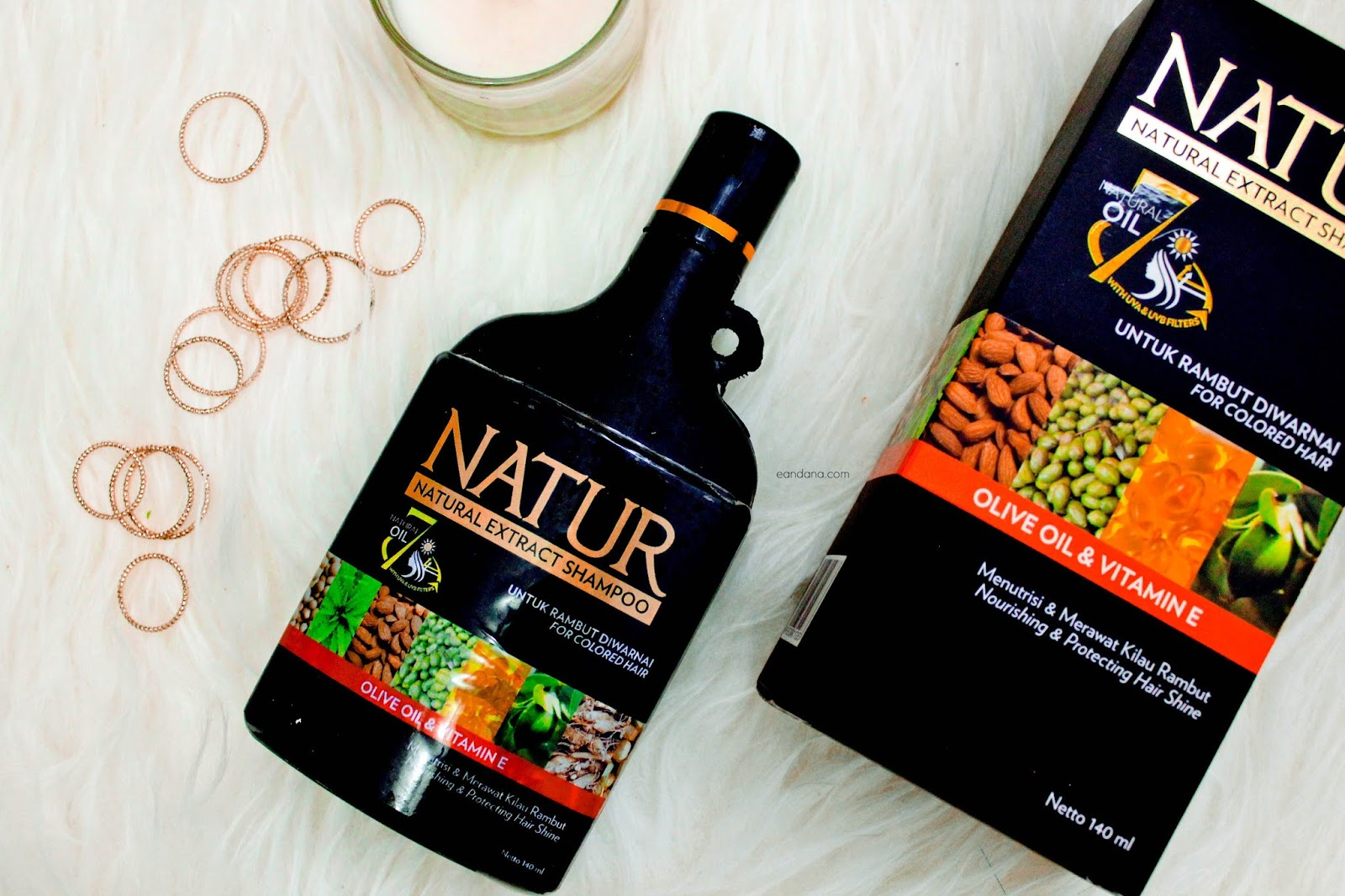 natur for colored hair