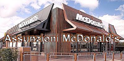 Assunzioni McDonald's (adesso lavoro.blogspot.com)